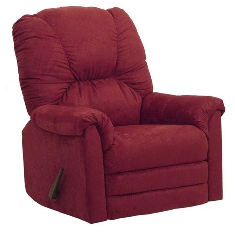 Oversized Rocker Recliner Catnapper Winner Oversized Rocker Recliner Chair In Sangria 42342211234