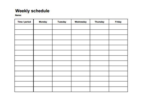 Weekly Employee Shift Schedule Template Excel Planner Template Free Employees Work Schedule Template For Excel