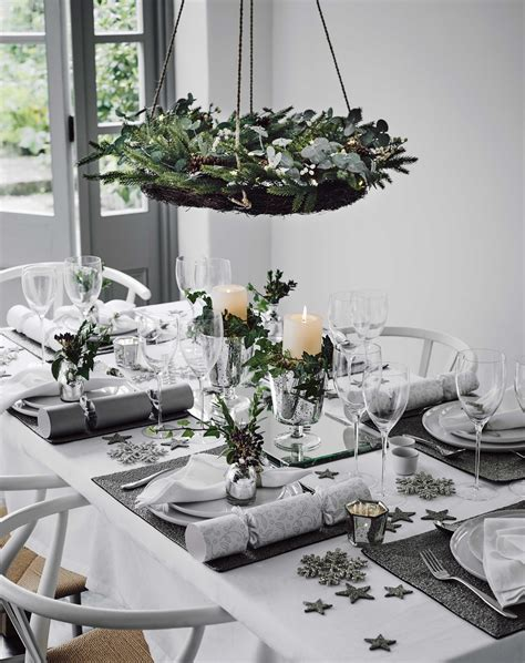 decoration noel table beautiful ways to decorate your table for home
