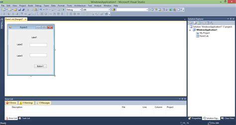 membuat form login di visual basic 2010 cara membuat daftar pustaka cara membuat program login