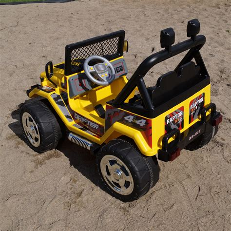 Battery Powered Jeep For Toddlers Jeep Wrangler Ride On Battery Powered Electric