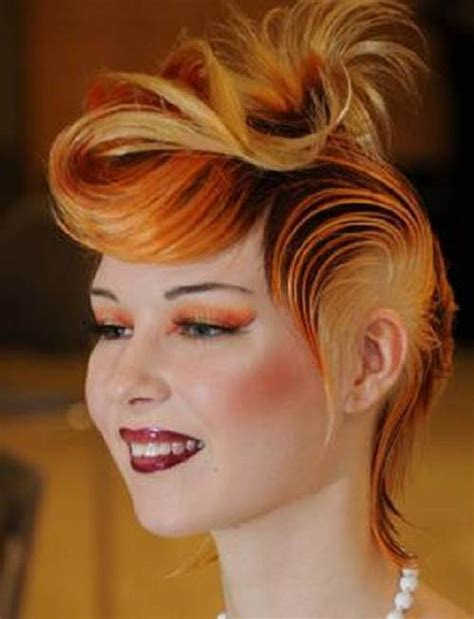 edgy hairstyles and color edgy highlights hairstyles concepts