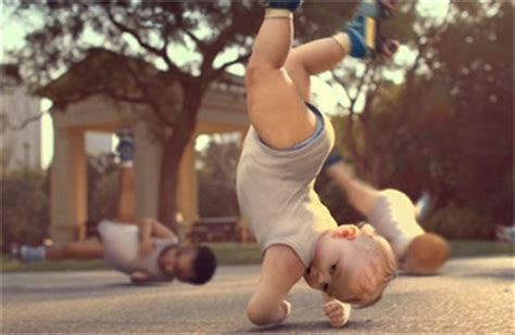 by evian known as babies on skates improperly since the babies mpc creates cg babies for evian spot winner of gold award