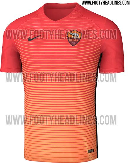 Jersey As Roma 3rd 20162017 as roma 16 17 third kit leaked footy headlines