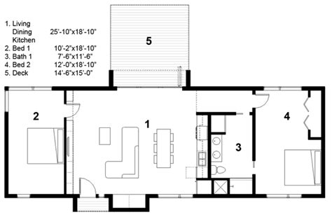 Free Small Home Building Plans Free Tiny House Plans Free Green Modern Cabin Floor Plan