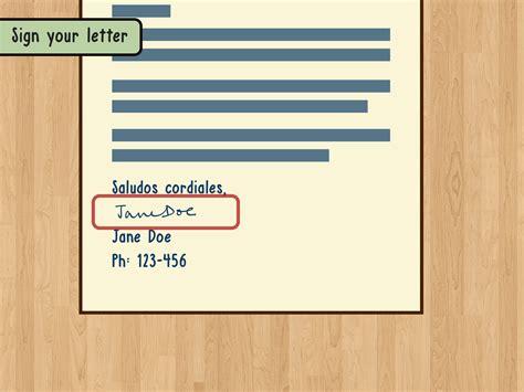 lettere in spagnolo come scrivere una lettera in spagnolo 14 passaggi
