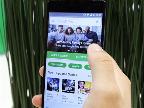 Play Store Library How To Sign Up For Play Family Library Android