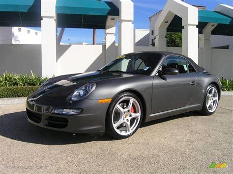 porsche slate grey metallic 2006 slate grey metallic porsche 911 carrera s cabriolet
