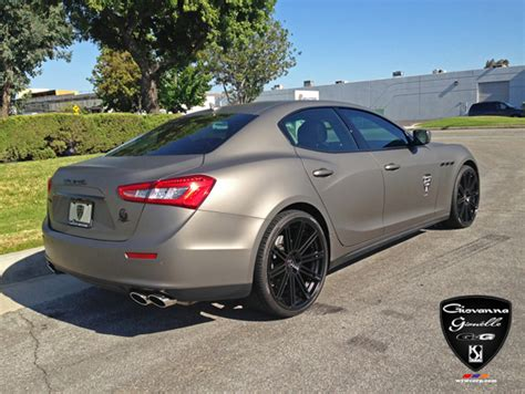 maserati ghibli grey black rims black wheels for maserati giovanna luxury wheels
