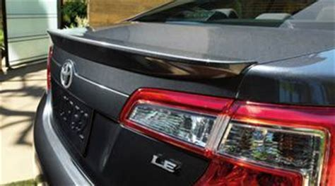 toyota camry : painted rear spoiler wing fits 2012 2013 models