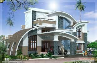Luxury Home Designs - modern mix luxury home design kerala home