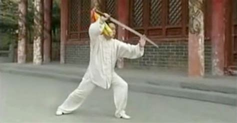 Chi Wardrobe by Zhao Youbin Performs Yang Style Chi Saber Best