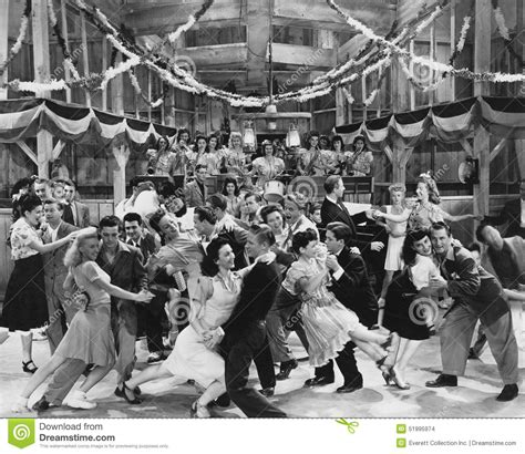 vintage dance party let s swing stock photo image 51995974