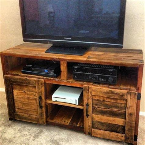 tv console table pallet tv console table with storage 99 pallets