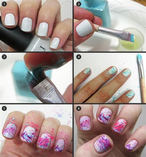 nail art step by step nail design step by step