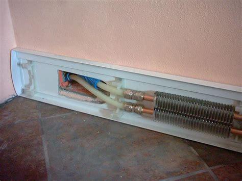sistema radiante a pavimento sistema radiante a battiscopa per il riscaldamento