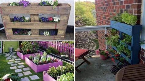 fioriere in legno economiche fioriere per giardino economiche in pallet di legno