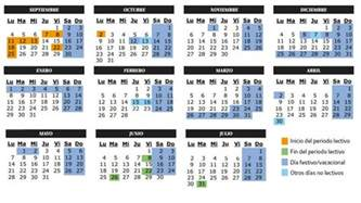 Calendario Escolar 2018 Madrid Pdf Calendario Calendario Escolar Curso 2017 2018