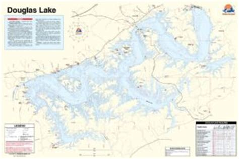 douglas lake bass boat rentals douglas lake tennessee waterproof map fishing hot spots
