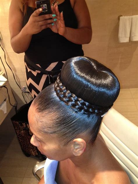 wedding hair buns for black women 13 hottest black updo hairstyles pretty designs