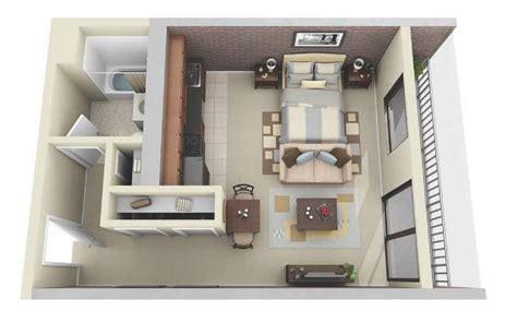 Floor Plans For Master Bedroom Suites by 10 Departamentos De Dise 241 O Y Planos Peque 241 Os