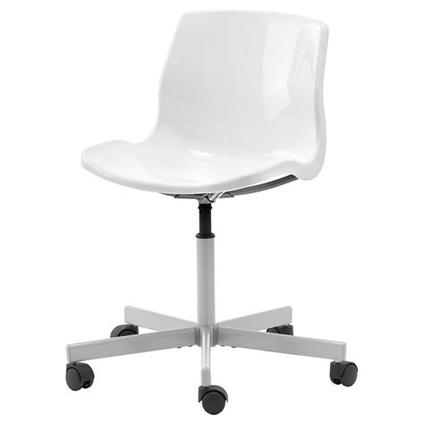 white desk chair snille swivel chair white ikea