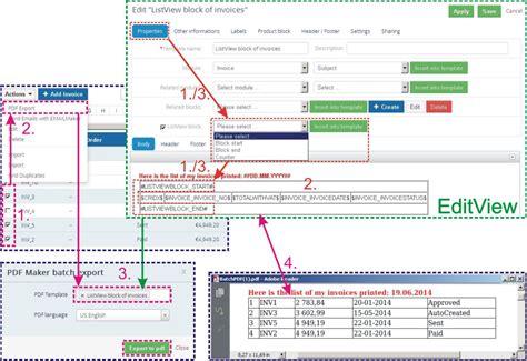 100 vtiger invoice template pdf maker for vtiger 7