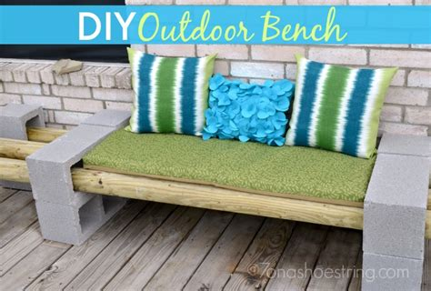 make your own garden bench create your own backyard ocean oasis