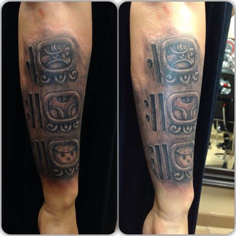 my first mayan tattoo my tattoos pinterest mayan