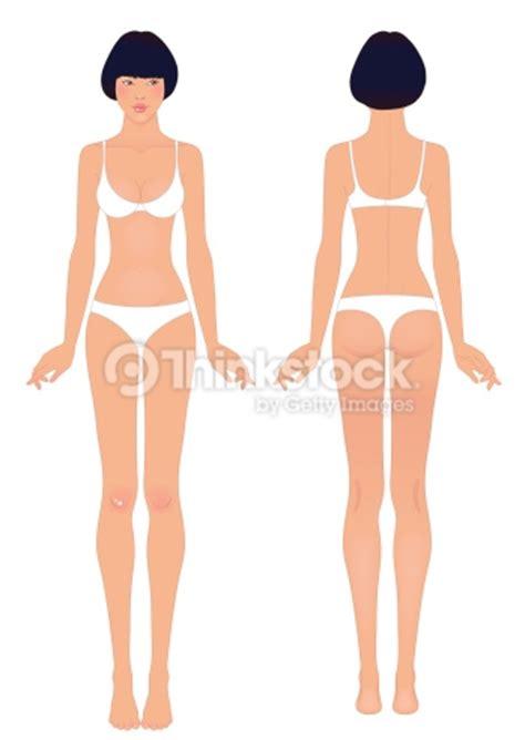 joven mujer asiática en el cuerpo de plantilla la parte