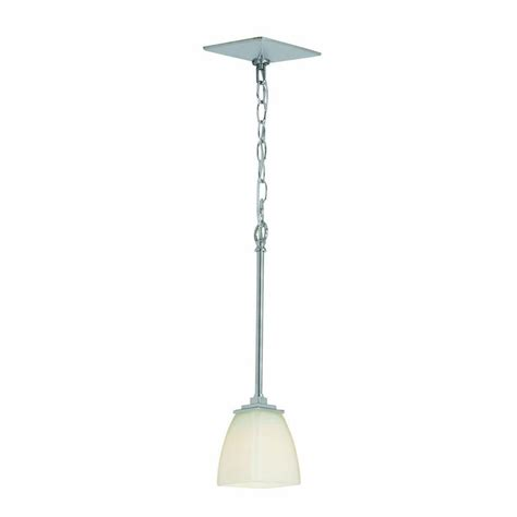 Home Depot Pendant Lighting Home Decorators Collection Sydney 1 Light Polished Nickel Mini Pendant 27181 The Home Depot