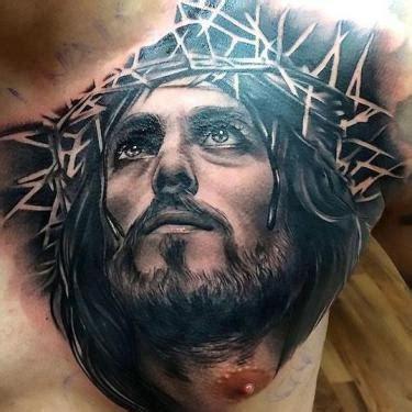 tattoo black jesus 99 best tattoo ideas for men jesus tattoo black jesus