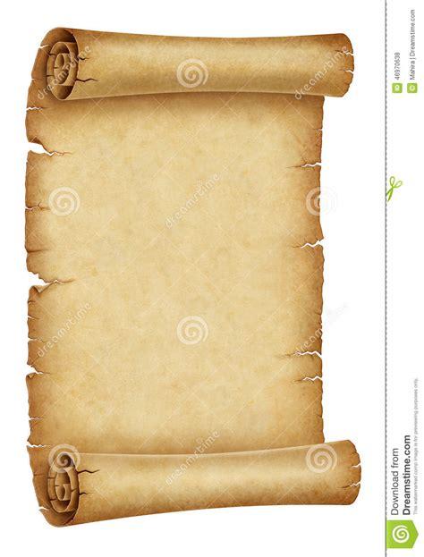 parchment scroll stock illustration illustration