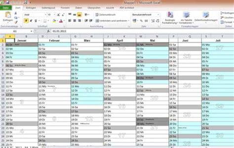 Kã Ndigen Vorlage Excel Jahreskalender Vorlage Selber Generieren Mit Msdatec