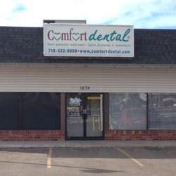 comfort dental in colorado springs comfort dental dentisti 1634 york rd colorado springs