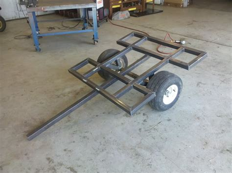 how to build small boat trailer small trailer build