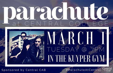 Des Moines Calendar Parachute Concert At Central College Mar 1 2016