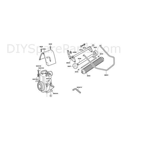 qualcast classic 35s parts diagram qualcast classic 35s f016305542 parts diagram page 3