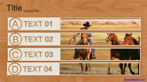 western powerpoint template powerpoint template western cowboys