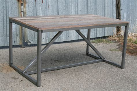 industrial style dining table combine 9 industrial furniture modern industrial