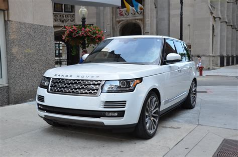cost of 2014 range rover 2014 land rover range rover autobiography used bentley