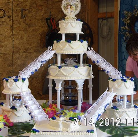 Tiered Wedding Cakes by You To See Tiered Wedding Cake On Craftsy