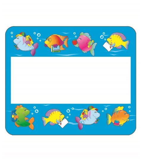 printable under the sea name tags school of fish name tags 40 name tags promoni s