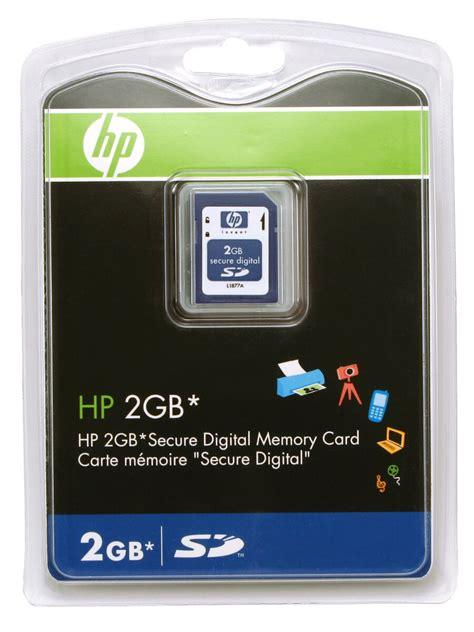 Memory Card Hp hp 2gb sd card
