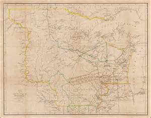 1836 map of map of the territory of wisconsin by david burr