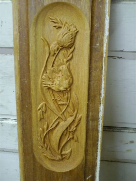 custom  relief carved door panel  komala studio