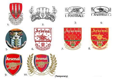 arsenal history arsenal crest history soccerdesign
