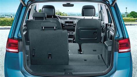 volkswagen minivan 2016 interior medidas volkswagen touran 2016 maletero e interior