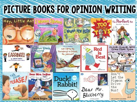 writing picture books a teach dream inspire opinion writing