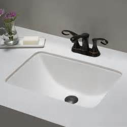 rectangular undermount sink bathroom ceramic sink kraususa
